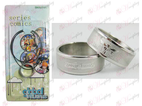 League of Legends Accesorios Frosted Anillo Collar - Cuerda