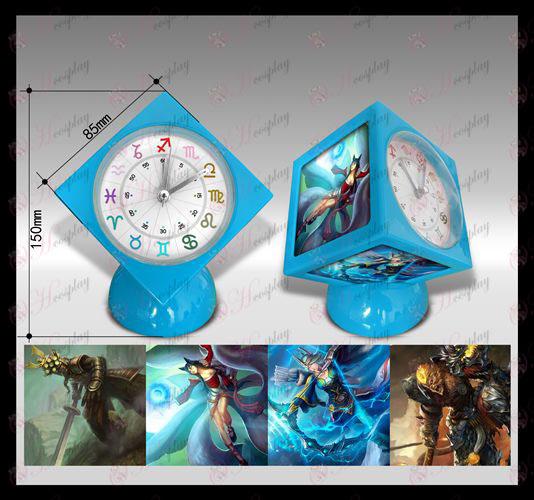 ליגה של שעון מעורר קוביית אבזרים אגדות