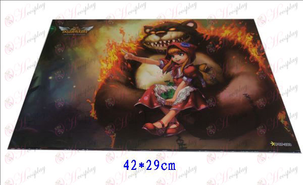 42 * 29League of Legends Accessories embossed posters (8)