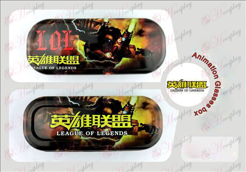 League of Legends Accessories Glasses Case Halloween Accessories Online Store