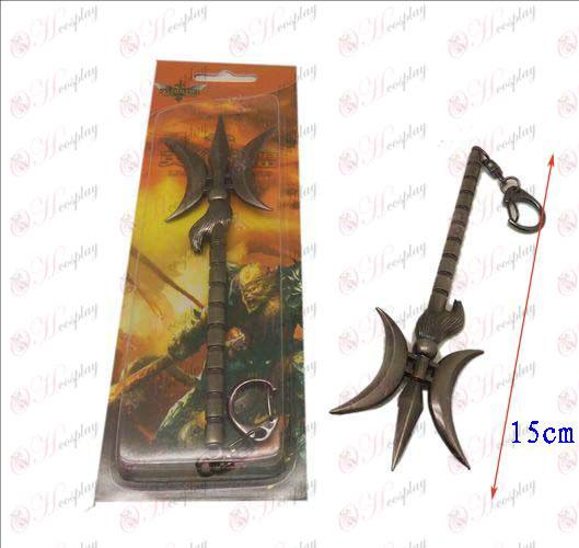Лигата на Легенди Аксесоари нож катарама 16 (пистолет цвят)