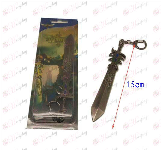 Лигата на Легенди Аксесоари Knife катарама 14 (пистолет цвят) цвят