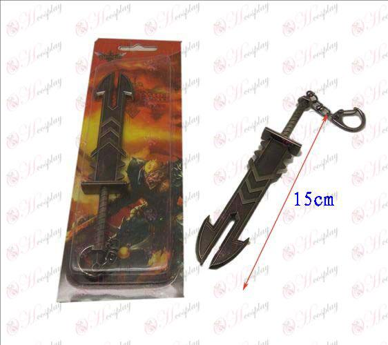 Лигата на Легенди Аксесоари нож катарама 13 (пистолет цвят)