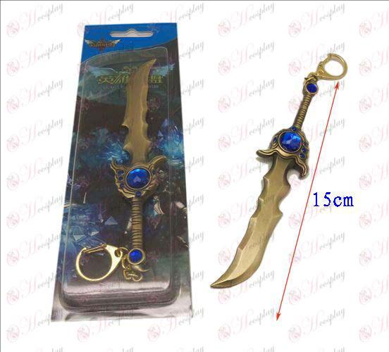 Лигата на Легенди Аксесоари нож катарама 12 (мед)