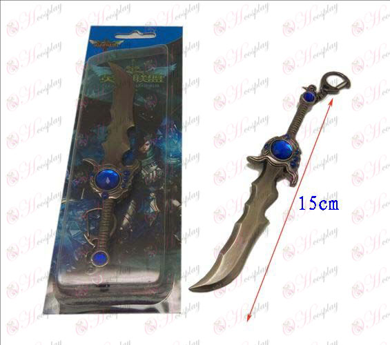 Лигата на Легенди Аксесоари нож катарама 12 (пистолет цвят)