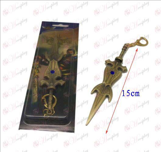 Лигата на Легенди Аксесоари нож катарама 10 (мед)