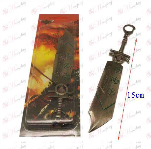 League of Legends accessoires couteau boucle 8 (couleur des armes à feu)