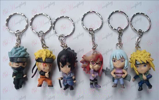 A17 generácie 6 Naruto bábika prívesok na kľúče