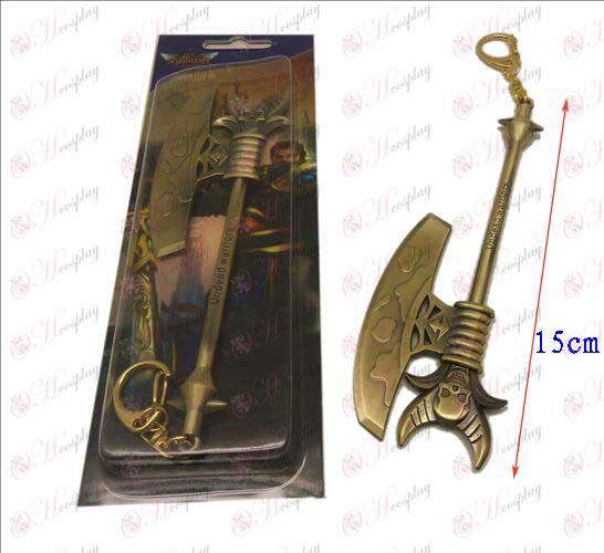 Лигата на Легенди Аксесоари нож ключалката 5 (мед)