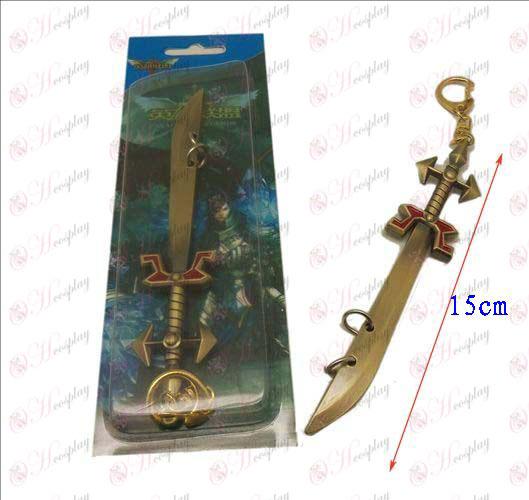 Лигата на Легенди нож Аксесоари ключалката 4 (мед)