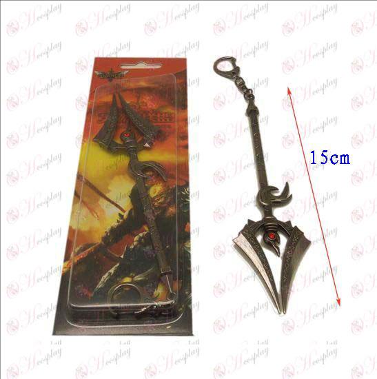 Лигата на Легенди Аксесоари нож ключалката 2 (пистолет цвят)
