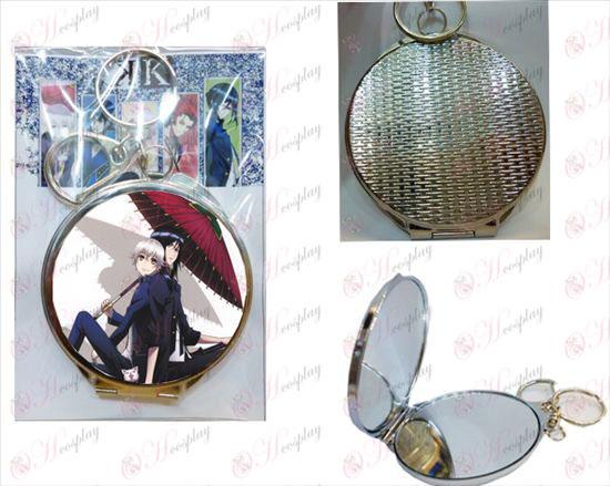k round mirror -4