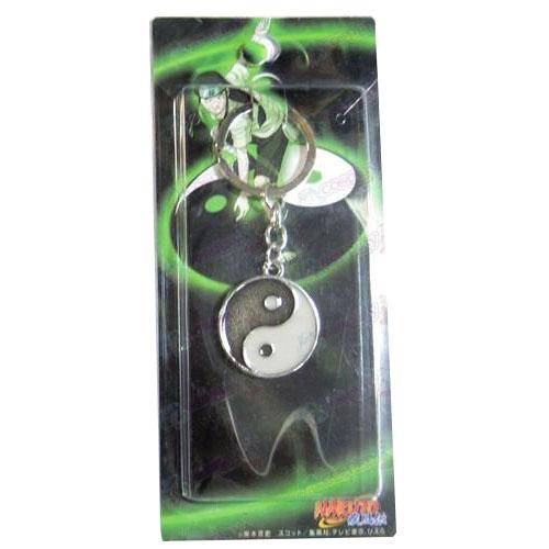 Naruto Hyuga Bagua Karte keychain