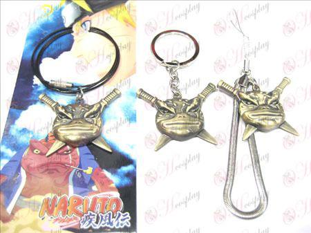 Naruto Bunta toad necklace lanyard (Bronze)