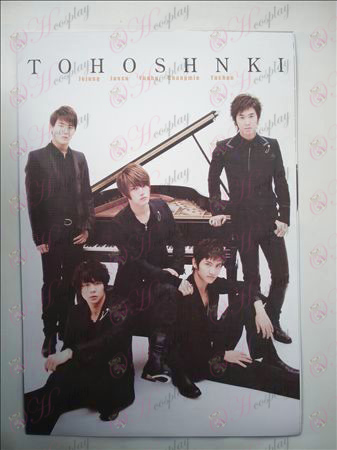 42 * 29 TVXQ embossed posters (8 / set)
