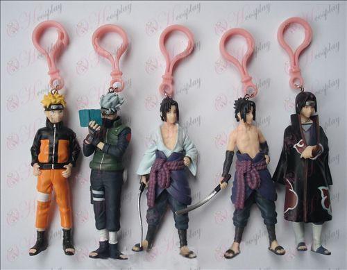 5 models Naruto keychain