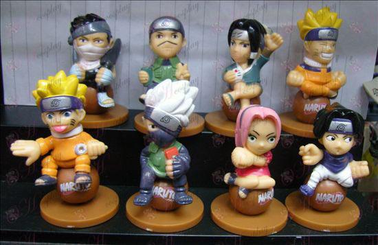 Naruto sat eight beads doll
