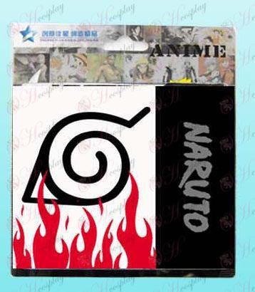 Naruto Konoha pressão carteira