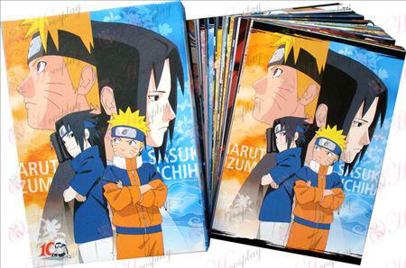 Naruto postkort + kort 5
