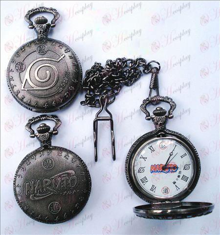 Naruto Konoha vreckové hodinky (bicie)