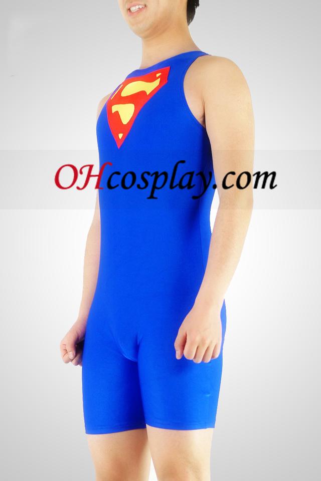 Halfbody Superman Spandex Lycra Zentai