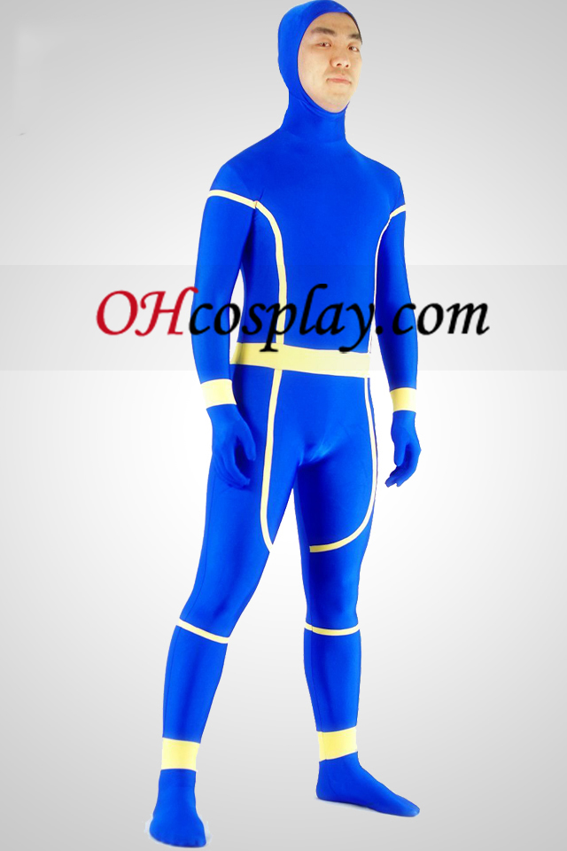 Cyclops Lycra Spandex Zentai traje del super héroe