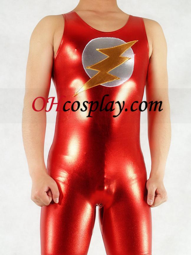 איש הברק מתכתי המבריק Superhero מערער