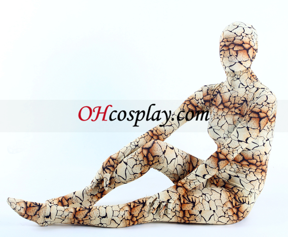 Cópias animal Lycra Zentai Suit