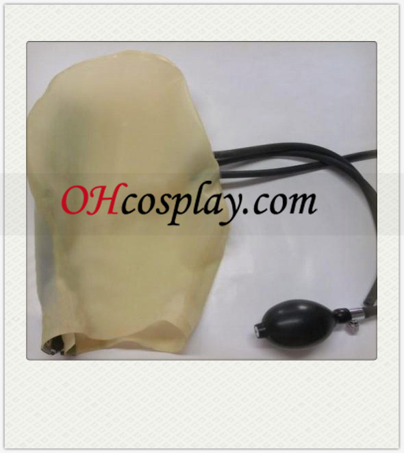 Translucent Unisex-Maske mit Air Tube