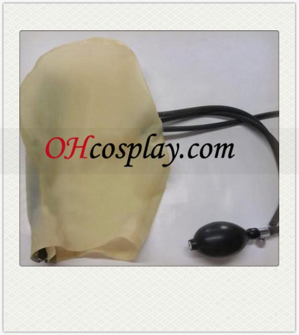 에어 튜브와 반투명 남녀 공용 마스크