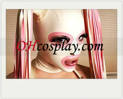 New Sexy Horse опашка Latex Mask с отворени очи и уста