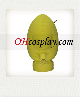 New Light Yellow SM Latex Mask