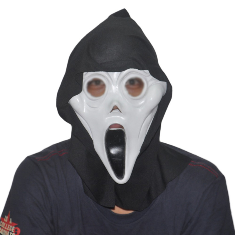 Face Ghost Cosplay Latex Mask