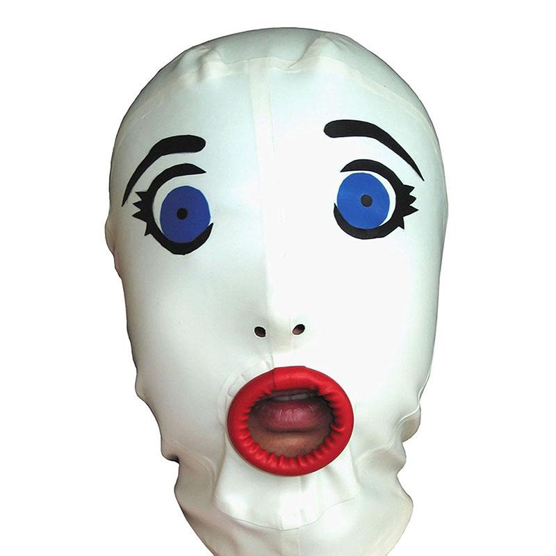 Full Face Fedett Cosplay Mask