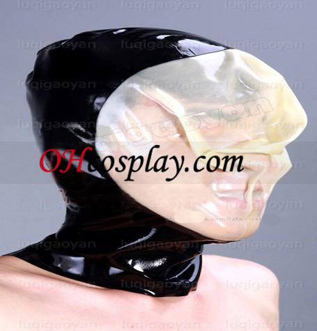 Flerfärgad Latex Mask