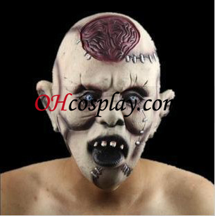 Rotten Head Scary Mask Latex
