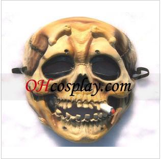 최고 수준의 두개골 체인 흡연자 마스크