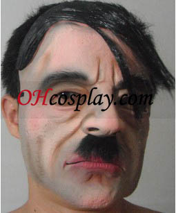 Halloween Hitler Latex Mask