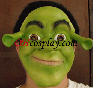 Classic Halloween Shrek Latex maszk