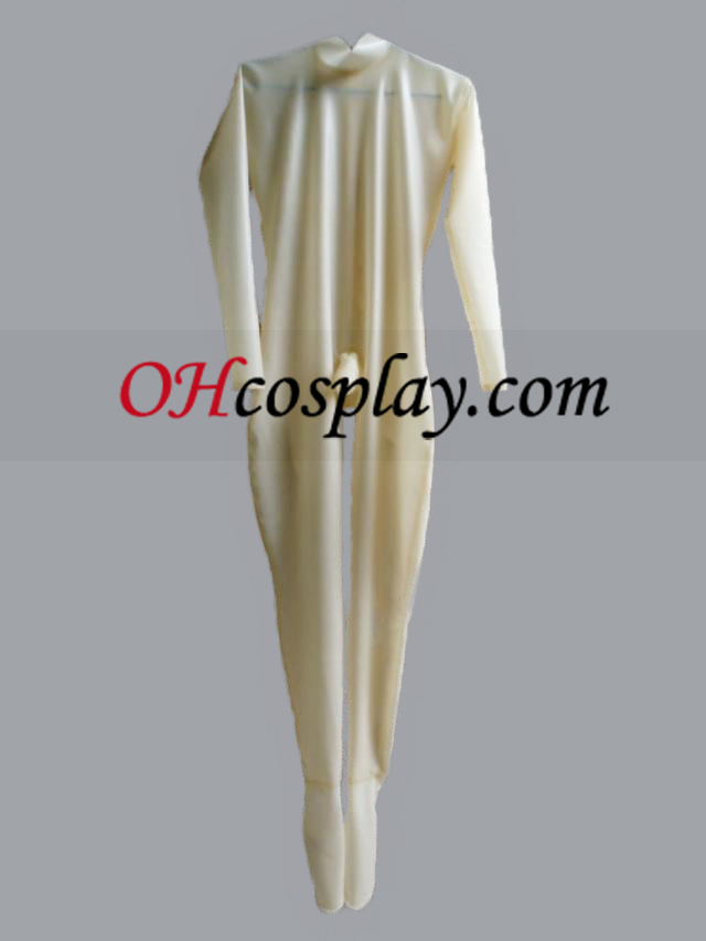 Transparent Male Latex Catsuit Cosplay Halloween Costume