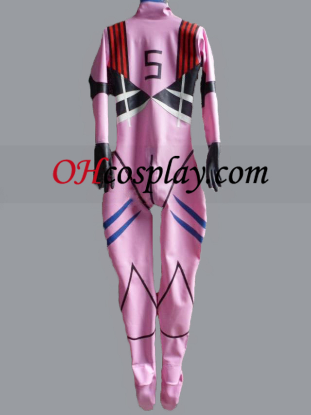 Female Latex Catsuit Including Gloves