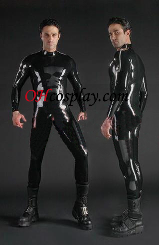 Long Sleeves Latex Catsuit