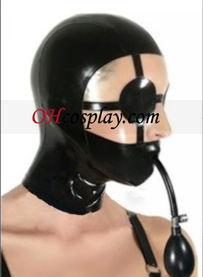 Chokey Latex Hood