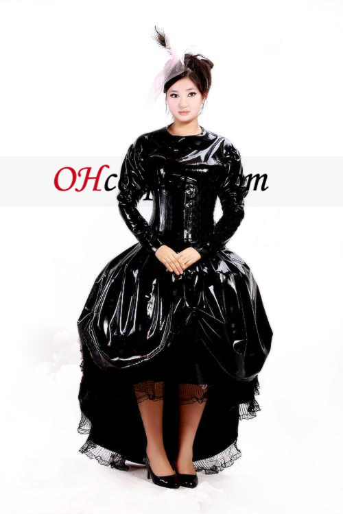 Luxus-Latex-Ballkleid