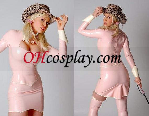 섹시한 미니 드레스 라텍스