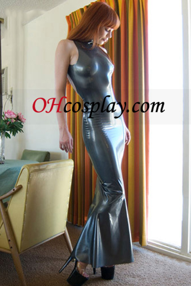 Gray Mermaid Ujjatlan latex ruha