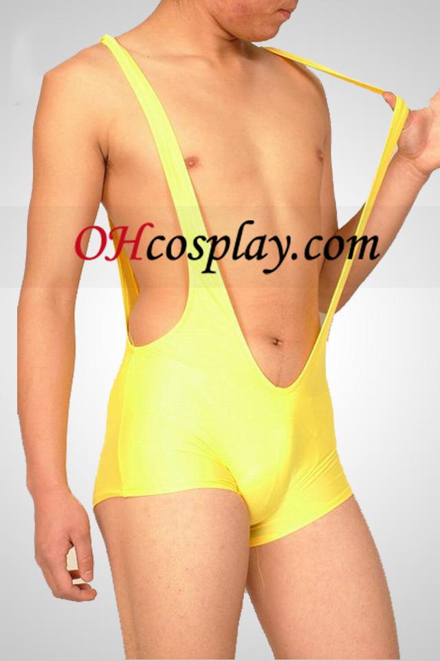 Lycra Suspender Shorts masculinos