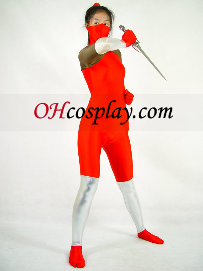 Red Lycra Cosplay