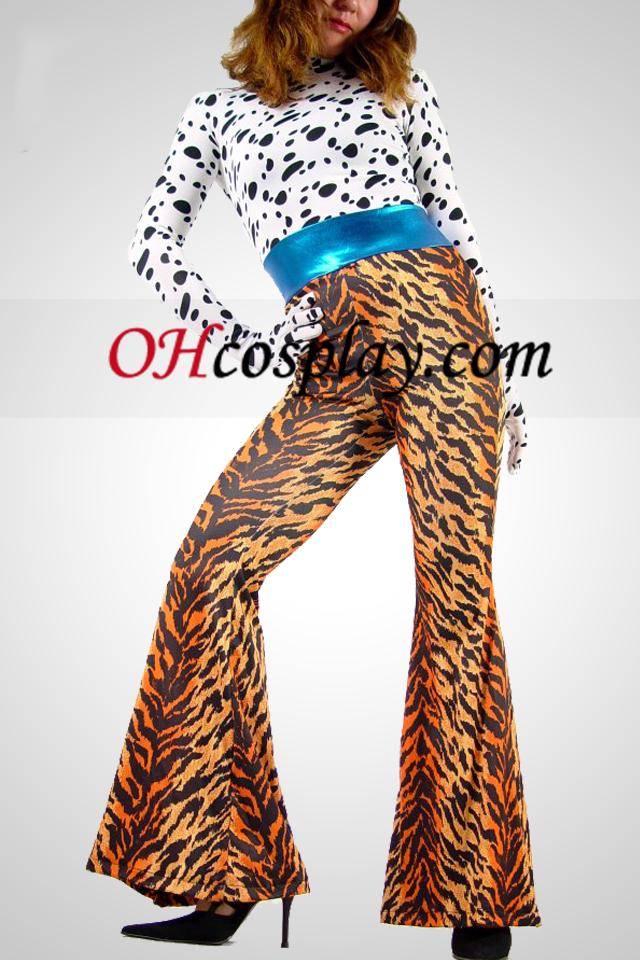 Flerfärgad Lycra Fashion Catsuit
