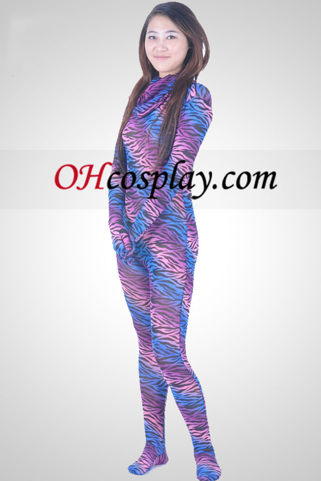 Multi-color Unisex Velvet Zentai Suit